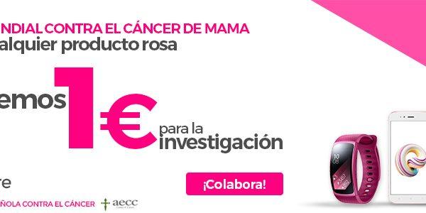 Día Mundial Contra el Cáncer de Mama: PcComponentes donará un euro por la venta del cualquier producto rosa del 19 al 22 de octubre