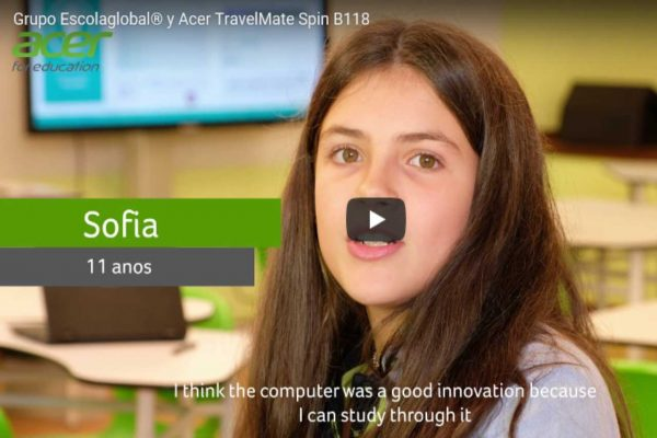 Acer for education – GRUPO ESCOLAGLOBAL® Y ACER TRAVELMATE SPIN B118