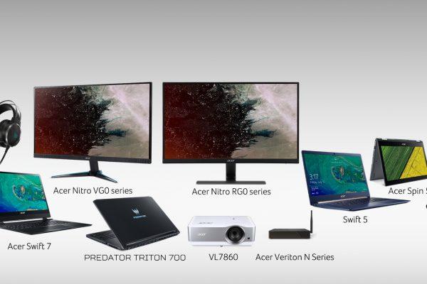 Acer gana 13 premios Red Dot Design 2018