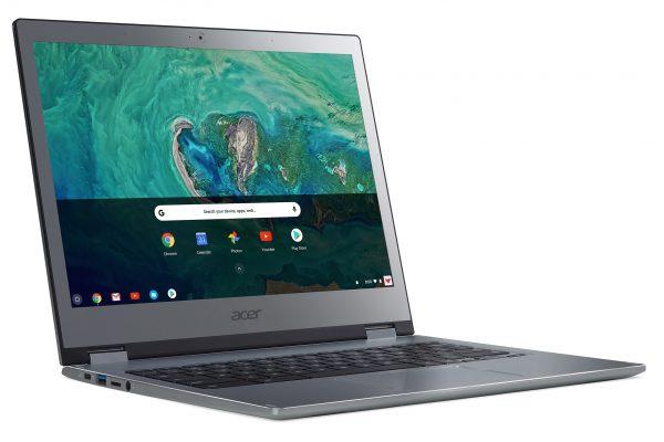 Acer presenta dos Chromebook Premium de 13 pulgadas diseñados para uso profesional