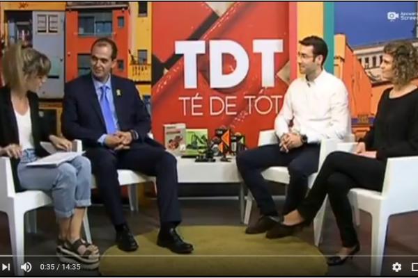 Participación Ksix en Televisión de Girona