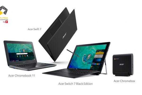 Acer Chromebook 11 consigue el premio de Oro en los Premios Computex d&i 2018