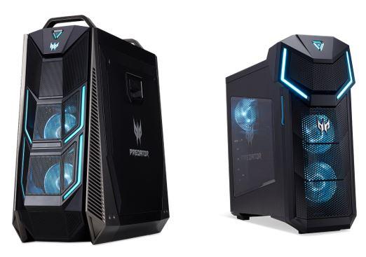 La serie de sobremesa Predator Orion incorpora los nuevos procesadores Intel Core de 9ª Generación para ofrecer una increíble experiencia gaming