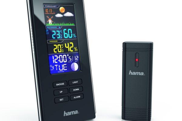 Hama presenta su elegante Estación Meteorológica Color para protegerte del frío este invierno