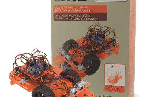 Ebotics presenta Code&Drive Coche Robot, un robot compatible con Arduino para niños y jóvenes a partir de los 14 años