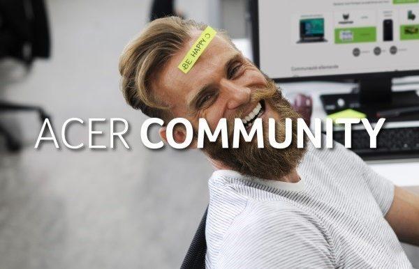 Acer presenta Acer Community, plataforma por y para la comunidad Acer que refuerza su compromiso por el servicio de atención al cliente