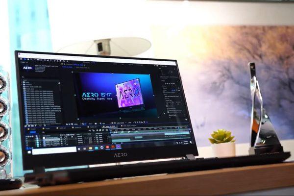 NPEquipos AERO de GIGABYTE para edición de video profesional