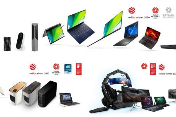 MADRID (13 de mayo, 2020). Acer ha anunciado hoy que 11 de sus productos han sido galardonados con 12 premios Red Dot Awards 2020 por su diseño sobresaliente. Este año, con innovaciones líderes en la industria tales como ConceptD 700, una estación de trabajo para creadores; Predator Thronos Air, una estructura gaming que incluye una silla, un escritorio modular y un brazo para monitores; o Swift 5, el portátil de 15 pulgadas más ligero del mundo; los productos galardonados con el Red Dot cubren un amplio abanico de categorías que van desde portátiles, sobremesas, monitores y hasta proyectores. Los Red Dot Awards son uno de los galardones de diseño más importantes del mundo que premian la excelencia en el diseño y en la innovación, con el objetivo de enriquecer a la sociedad a través de estas premisas. Los productos ganadores del premio Red Dot Design 2018 son los siguientes: Predator Helios 700, un portátil con un teclado HyperDrift único Predator Helios 700 incluye un teclado HyperDrift único que se desliza hacia delante, lo que permite aumentar el flujo de aire directamente a través la parte superior del portátil y hace que los jugadores puedan exprimir al máximo las posibilidades de sus potentes componentes. Predator Thronos Air, una estructura para jugones Predator Thronos Air incluye una silla, un escritorio modular y un brazo para monitores, rodeando al jugador como una cabina cómoda y envolvente, ideal para una inmersión total y completa durante las partidas. Su iluminación azul turquesa emite un suave resplandor frío, perfecto para jugar. La silla se puede ajustar a varios ángulos (130 grados dentro de la cabina y 180 grados fuera de la cabina) para un máximo confort. Predator X32, imagen impecable con NVIDIA® G-SYNC® Ultimate El monitor Predator X32 de 32 pulgadas ofrece unas imágenes brillantes y espectaculares gracias a NVIDIA G-SYNC Ultimate, VESA Display HDR y la certificación 1400; un dispositivo perfecto para los jugadores que también crean sus propio