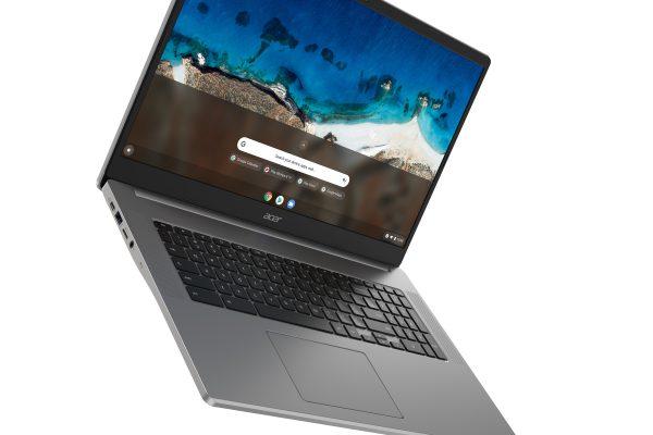 Acer presenta cuatro nuevos Chromebooks, incluido el primer modelo de 17 pulgadas de la industria